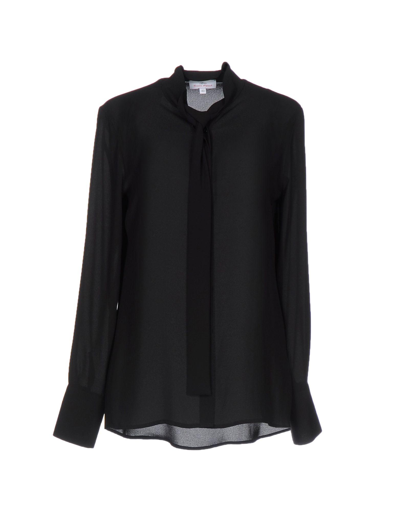 レディース BRIO シャツ ブラック