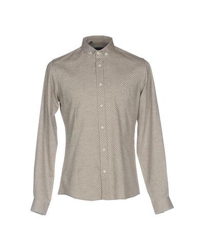 ALESSANDRO DELL'ACQUA メンズ シャツ グレー 41 コットン 100%
