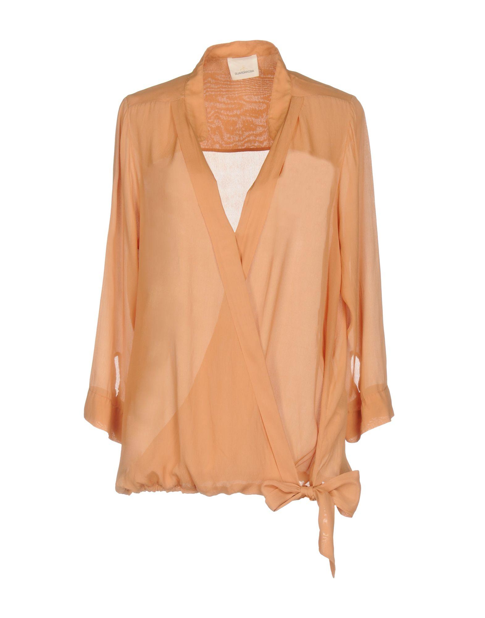 GUARDAROBA by ANIYE BY Damen Bluse Farbe Pfirsich Größe 4