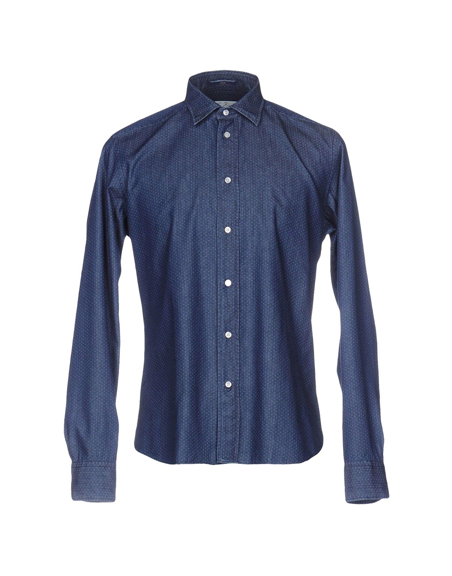 B.D.BAGGIES Джинсовая рубашка рубашка в мелкий горошек