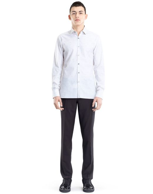 lanvin oxford shirt  men