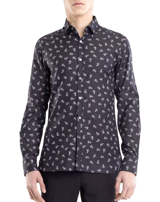 "lanvin ""tiny lobsters"" shirt men"
