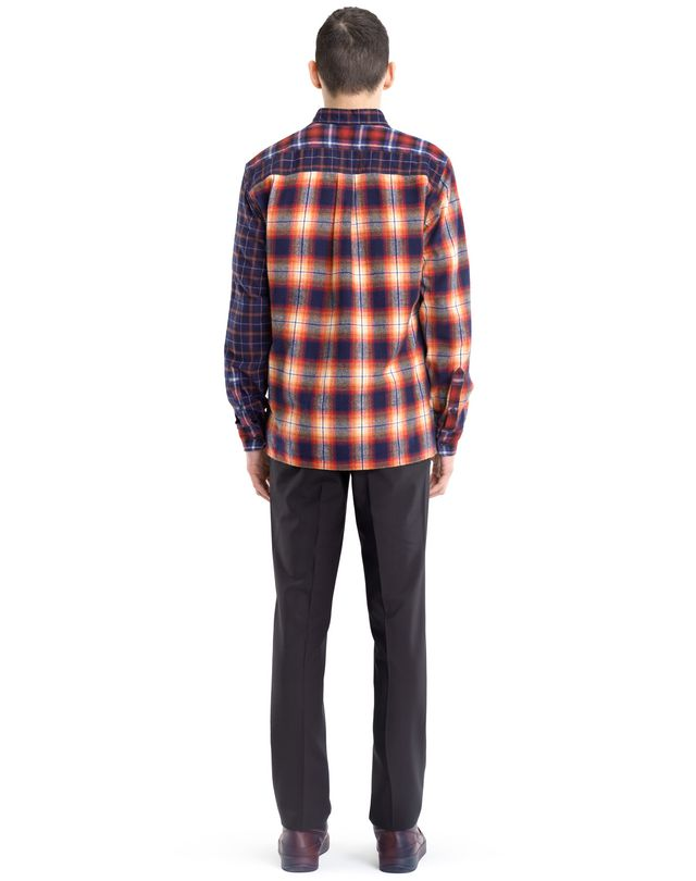 LANVIN CHECKERED PATCHWORK SHIRT Shirt U d