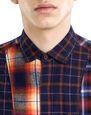 LANVIN Shirt Man CHECKERED PATCHWORK SHIRT f
