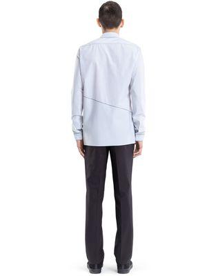 LANVIN PINSTRIPE PATCHWORK SHIRT Shirt U d