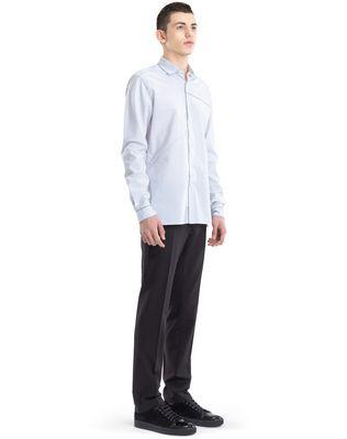 LANVIN PINSTRIPE PATCHWORK SHIRT Shirt U e