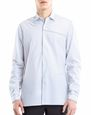 LANVIN Shirt Man PINSTRIPE PATCHWORK SHIRT f