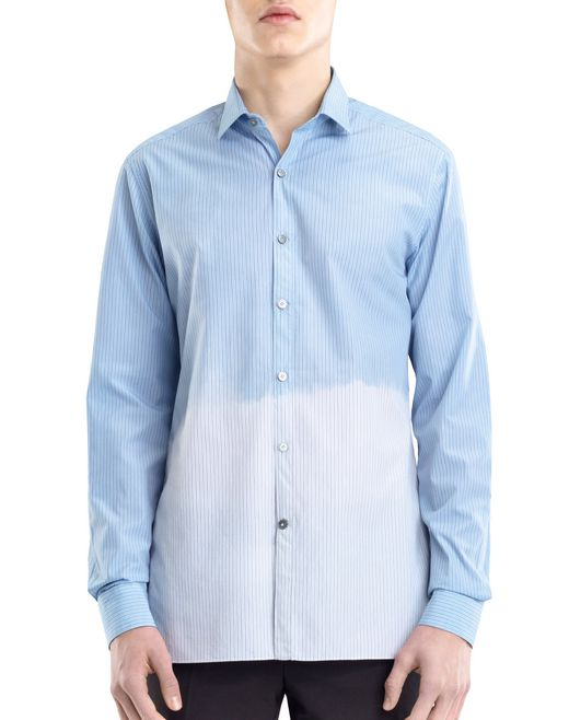 lanvin dip dye shirt  men