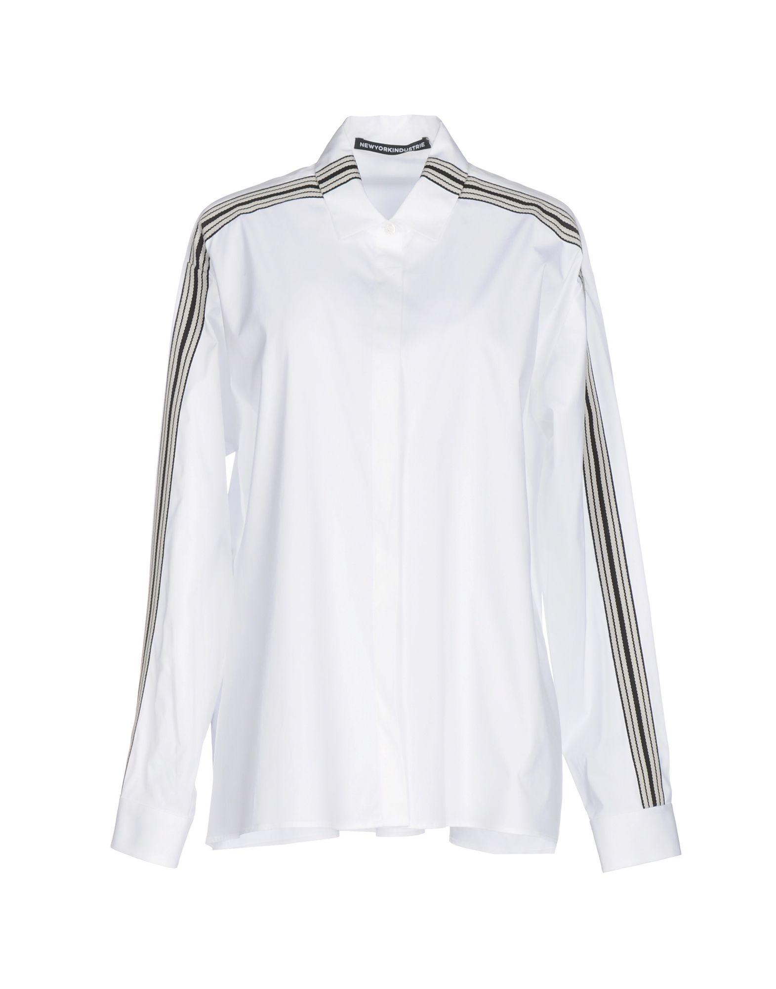 цены на NEW YORK INDUSTRIE Pубашка в интернет-магазинах