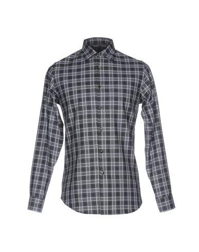 ALESSANDRO DELL'ACQUA メンズ シャツ ブラック 39 コットン 100%