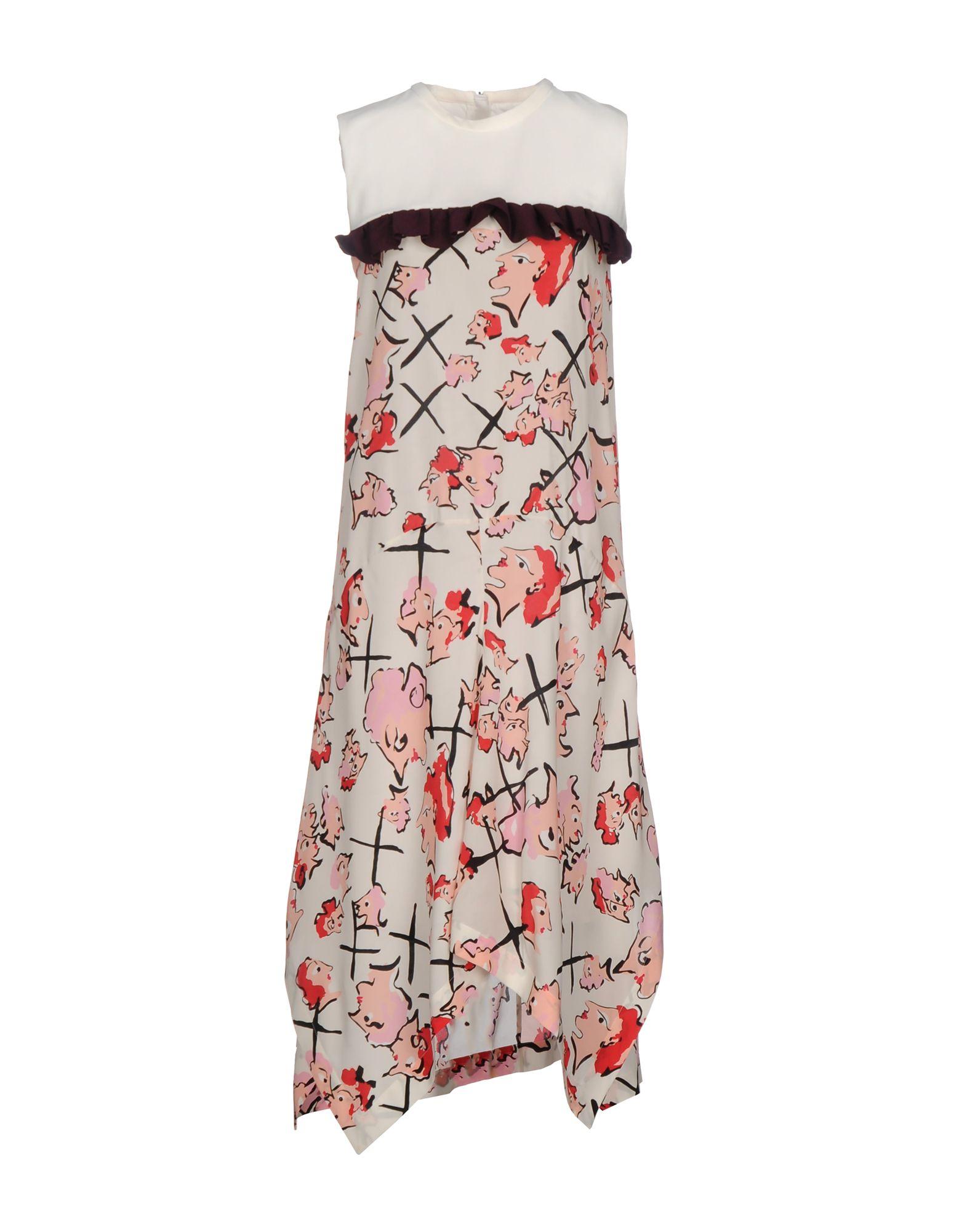 MSGM Платье длиной 3/4 msgm одежда