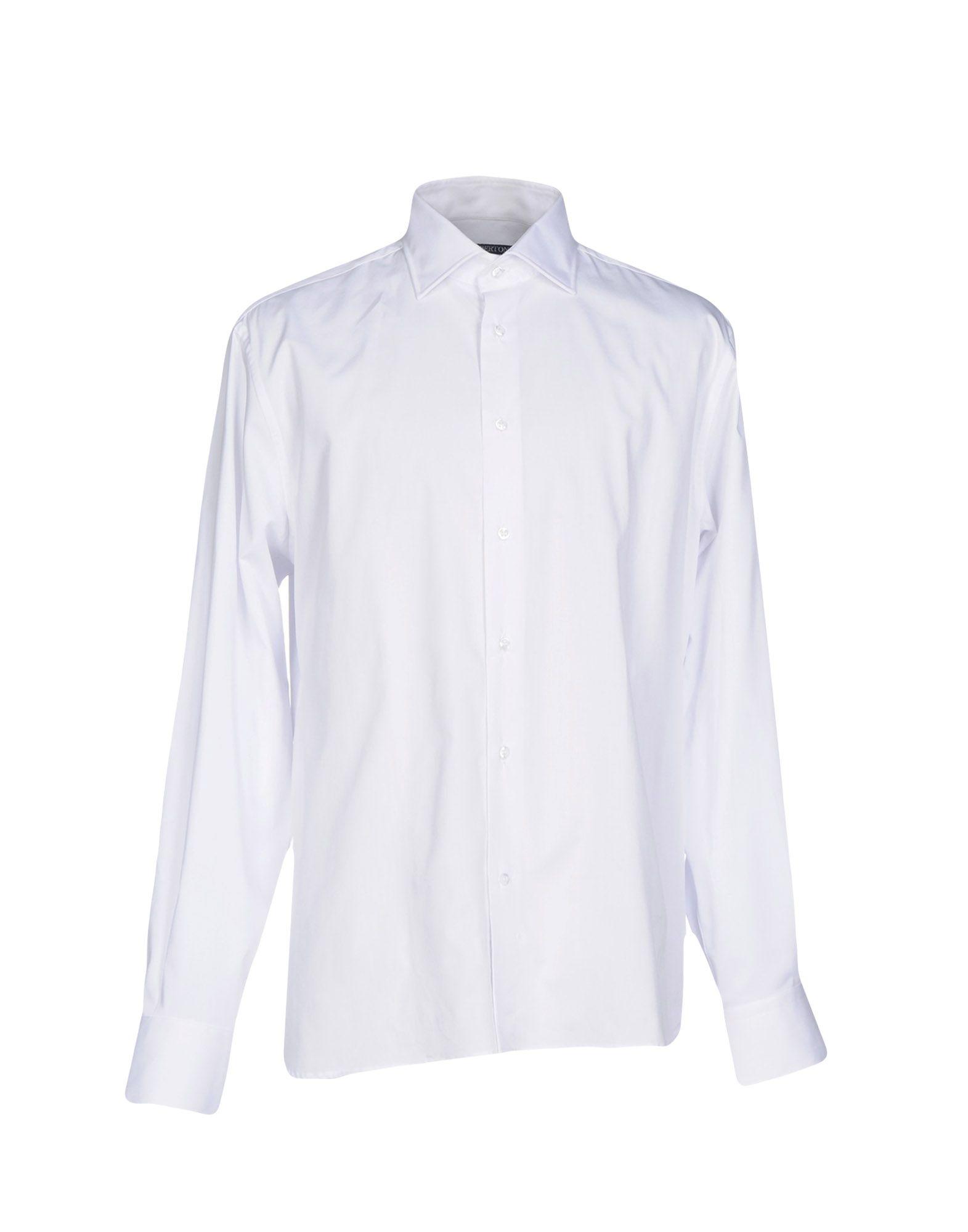 GIAN BERTONE Pубашка gian marco venturi одежда 81g01