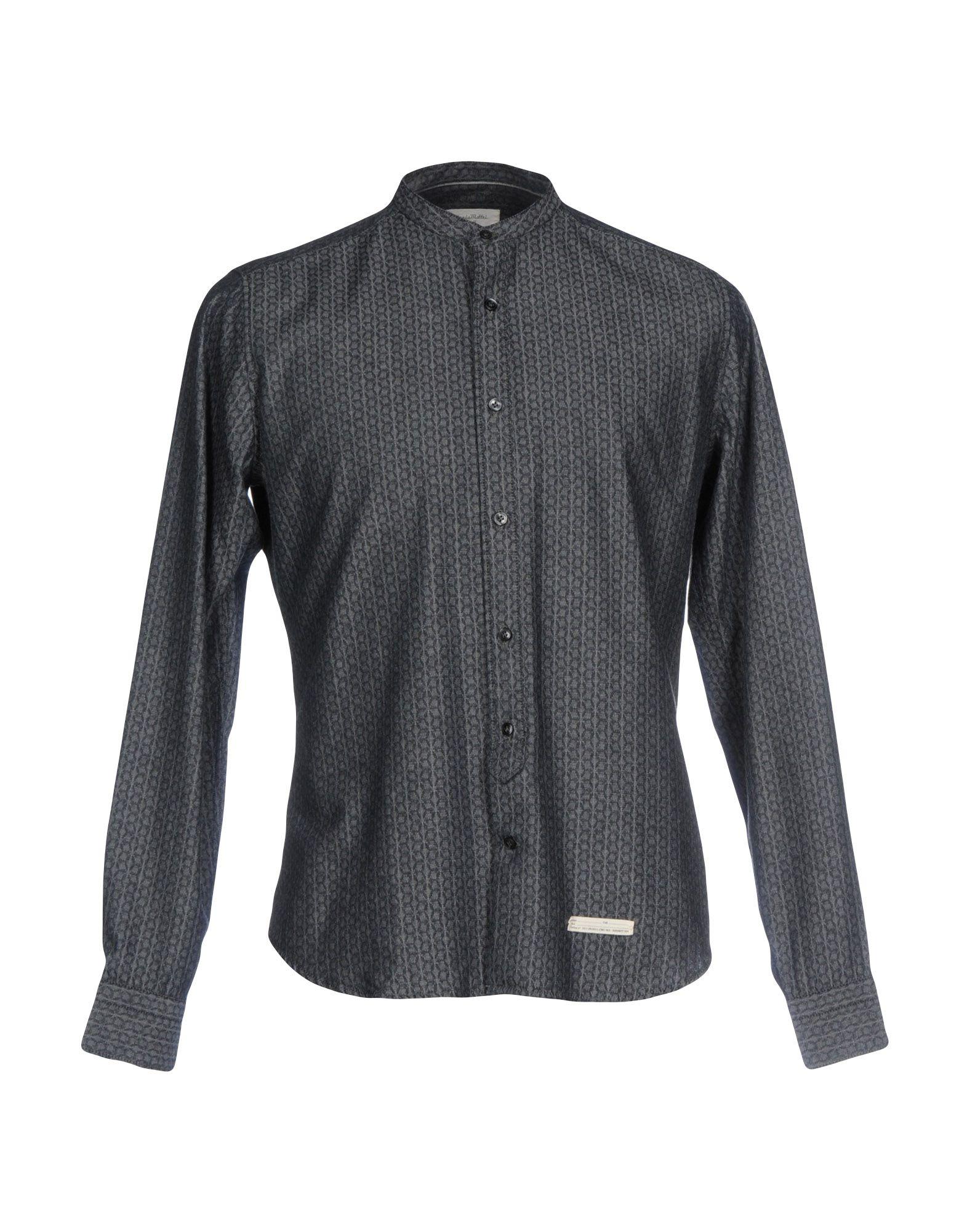 ФОТО tintoria mattei 954 джинсовая рубашка