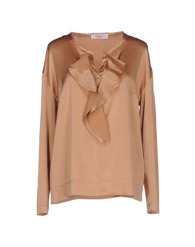 Фото - Женскую блузку JUCCA цвет верблюжий