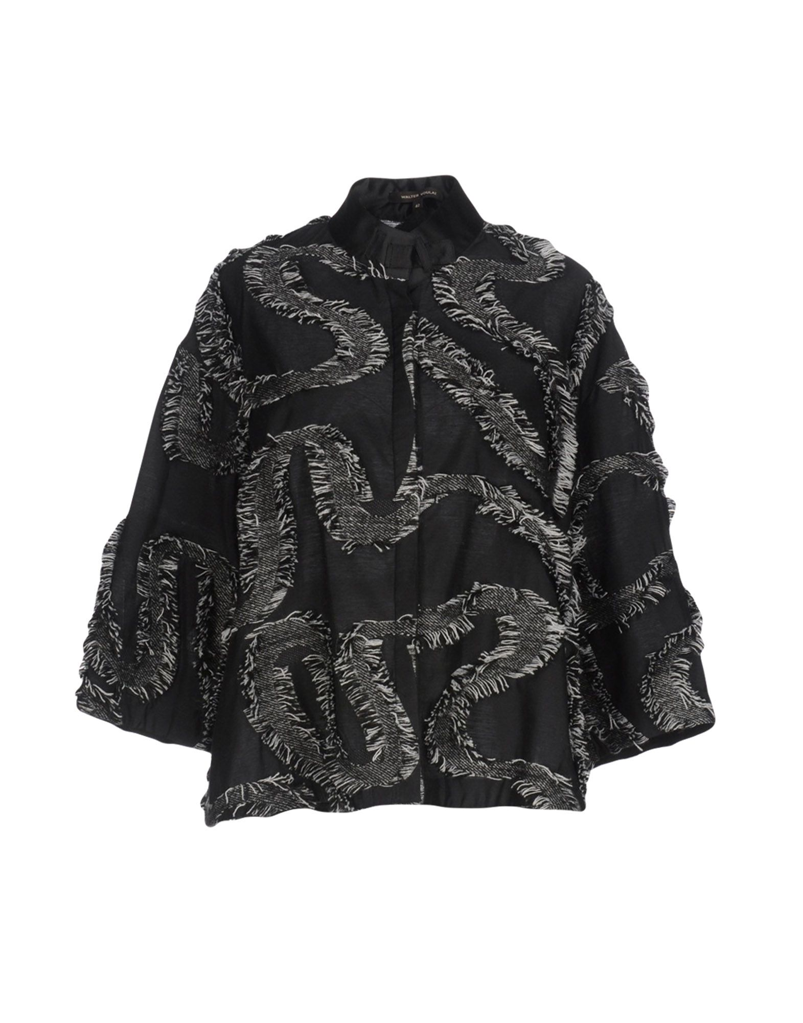 WALTER VOULAZ Patterned Shirts & Blouses in Black