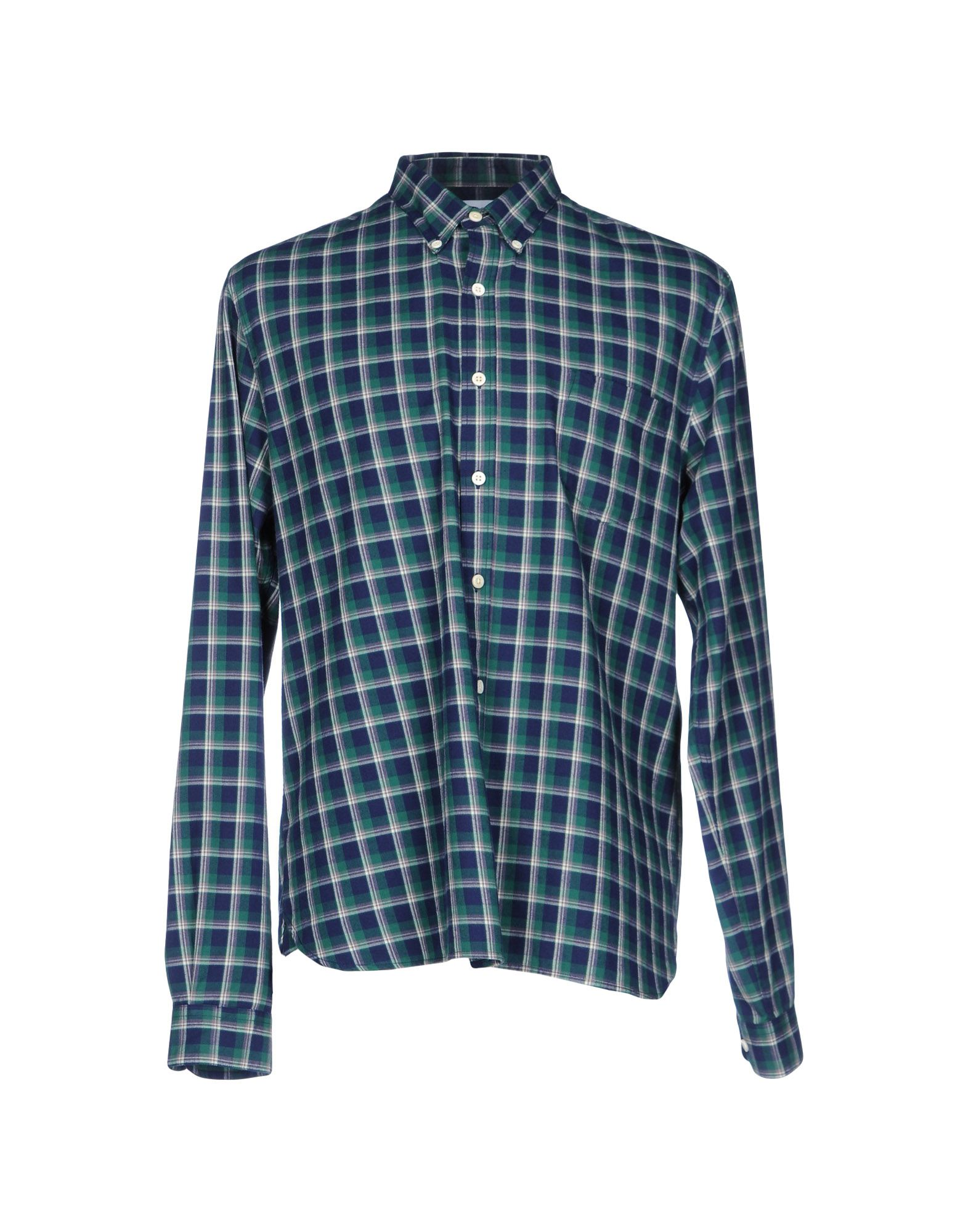 CUISSE DE GRENOUILLE Checked Shirt in Green