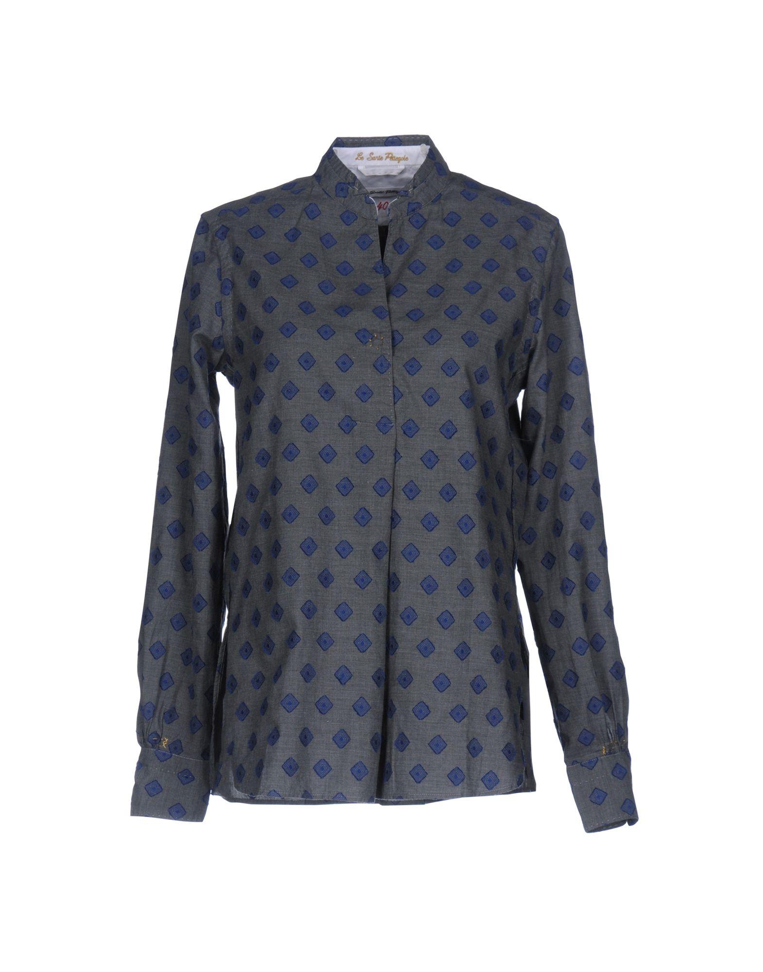 LE SARTE PETTEGOLE Damen Hemd Farbe Blau Größe 6