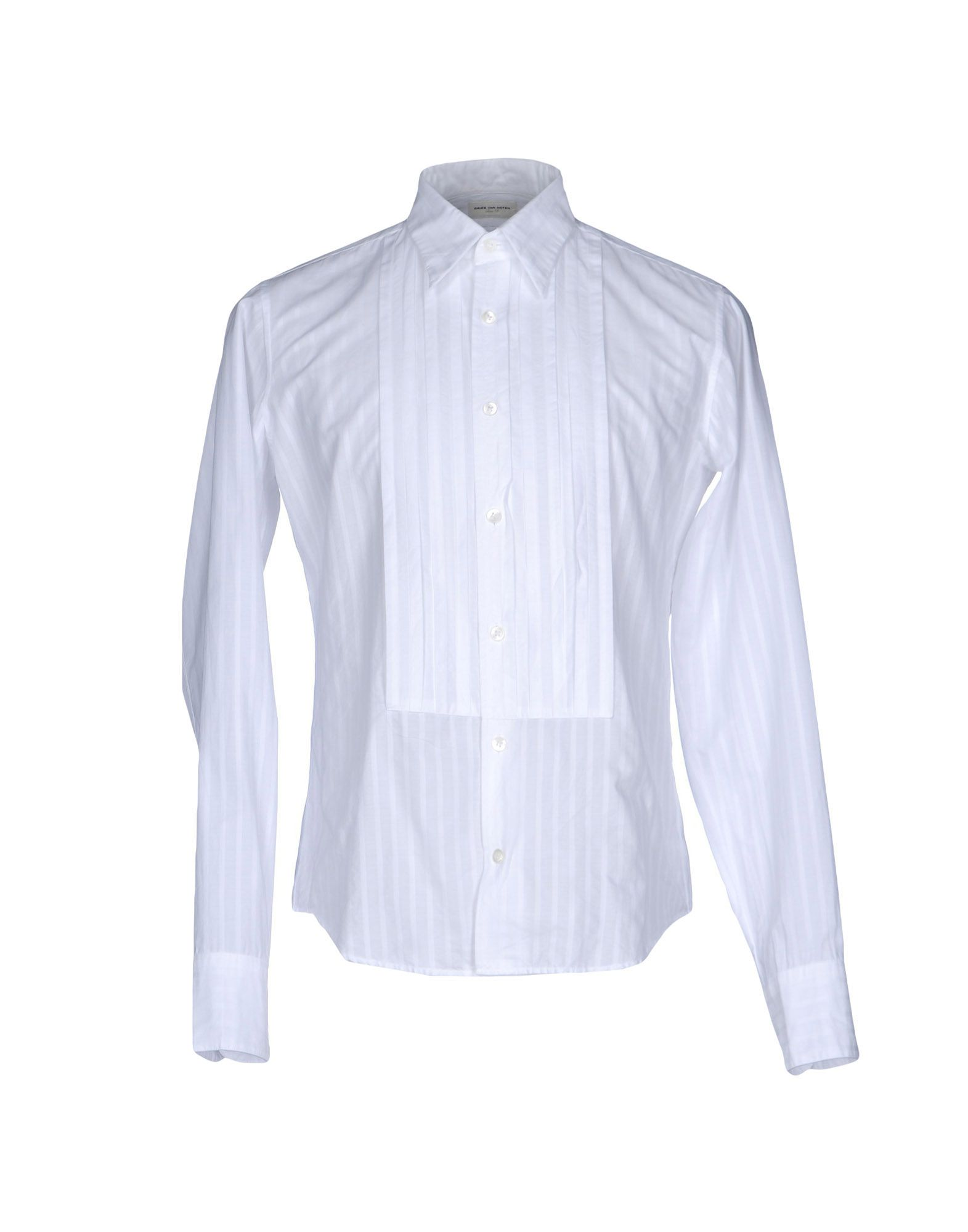 DRIES VAN NOTEN Herren Hemd Farbe Weiß Größe 4 - broschei