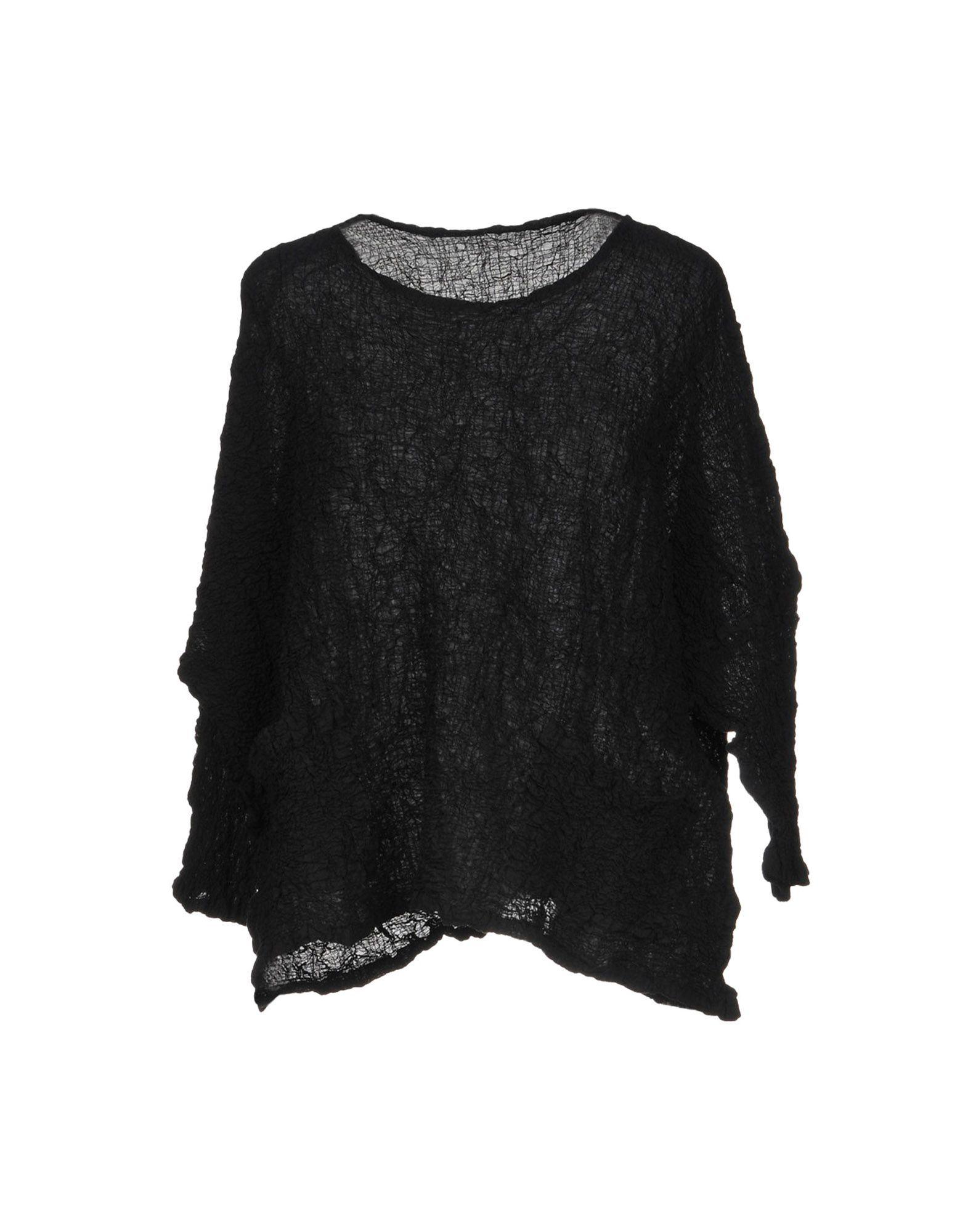ISSEY MIYAKE CAULIFLOWER Blouses in Black