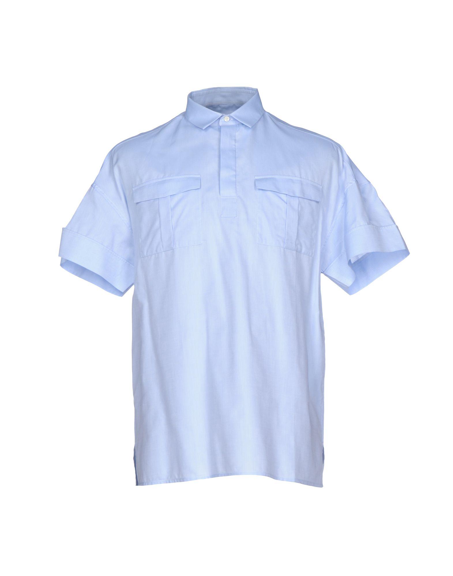VALENTINO Herren Hemd Farbe Himmelblau Größe 8