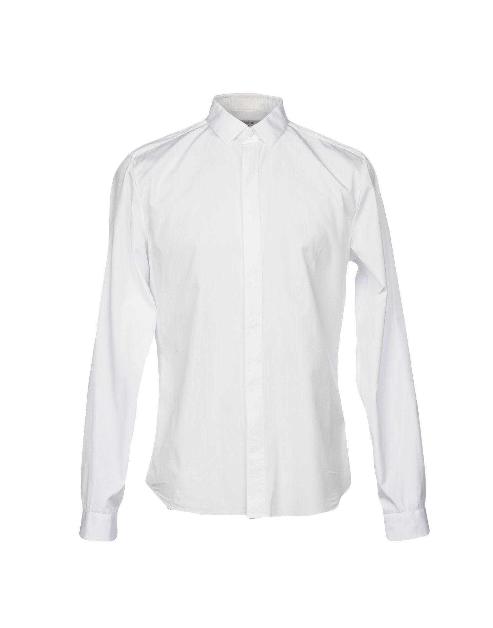 VALENTINO Herren Hemd Farbe Weiß Größe 6
