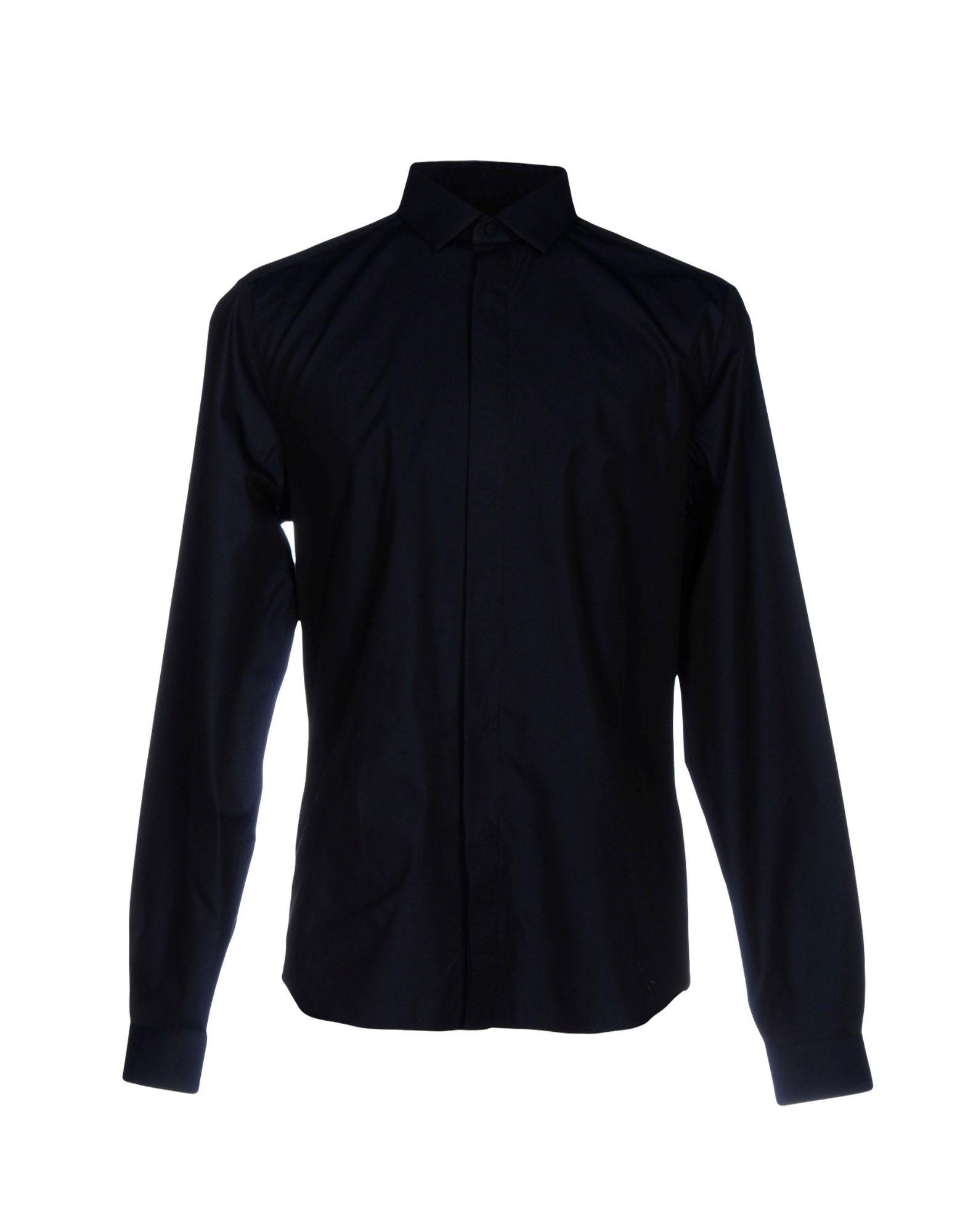 VALENTINO Herren Hemd Farbe Dunkelblau Größe 7