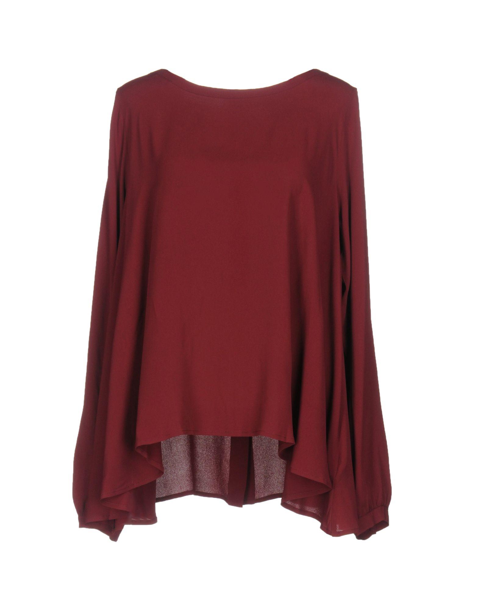 MAURO GRIFONI Damen Bluse Farbe Bordeaux Größe 4