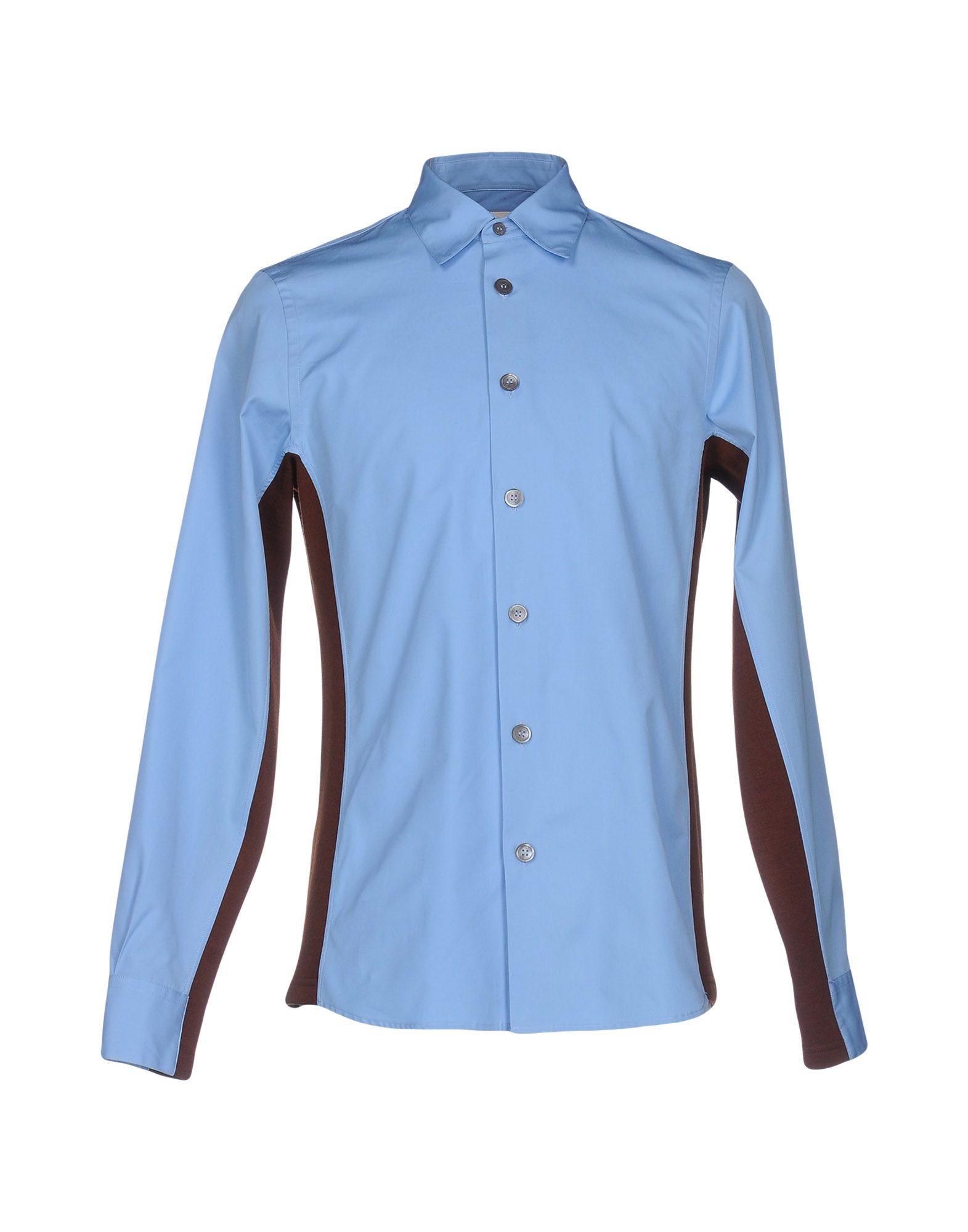 MARNI Herren Hemd Farbe Azurblau Größe 1