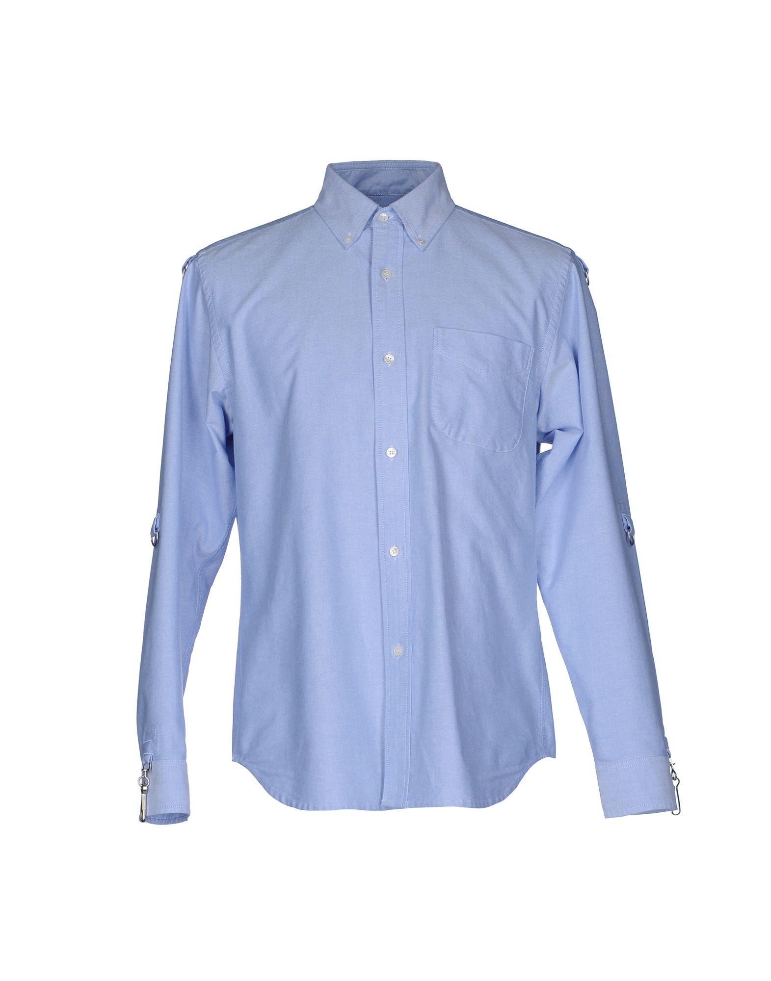 GANRYU Herren Hemd Farbe Himmelblau Größe 6