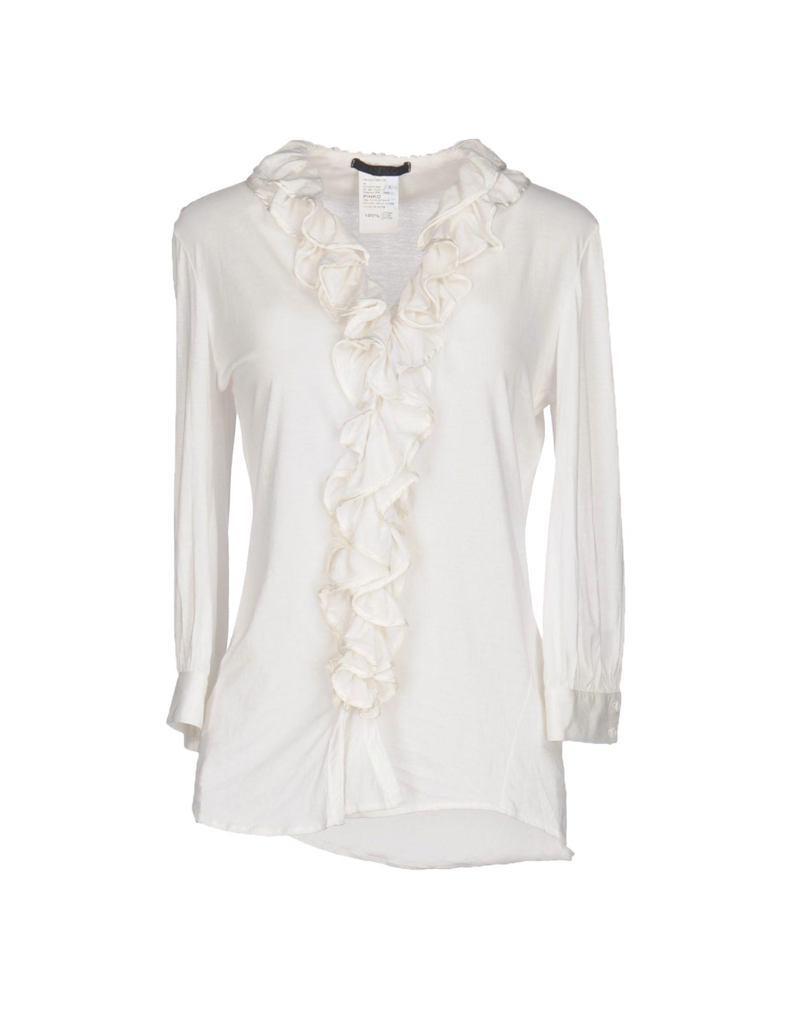 PINKO Damen Hemd Farbe Weiß Größe 6
