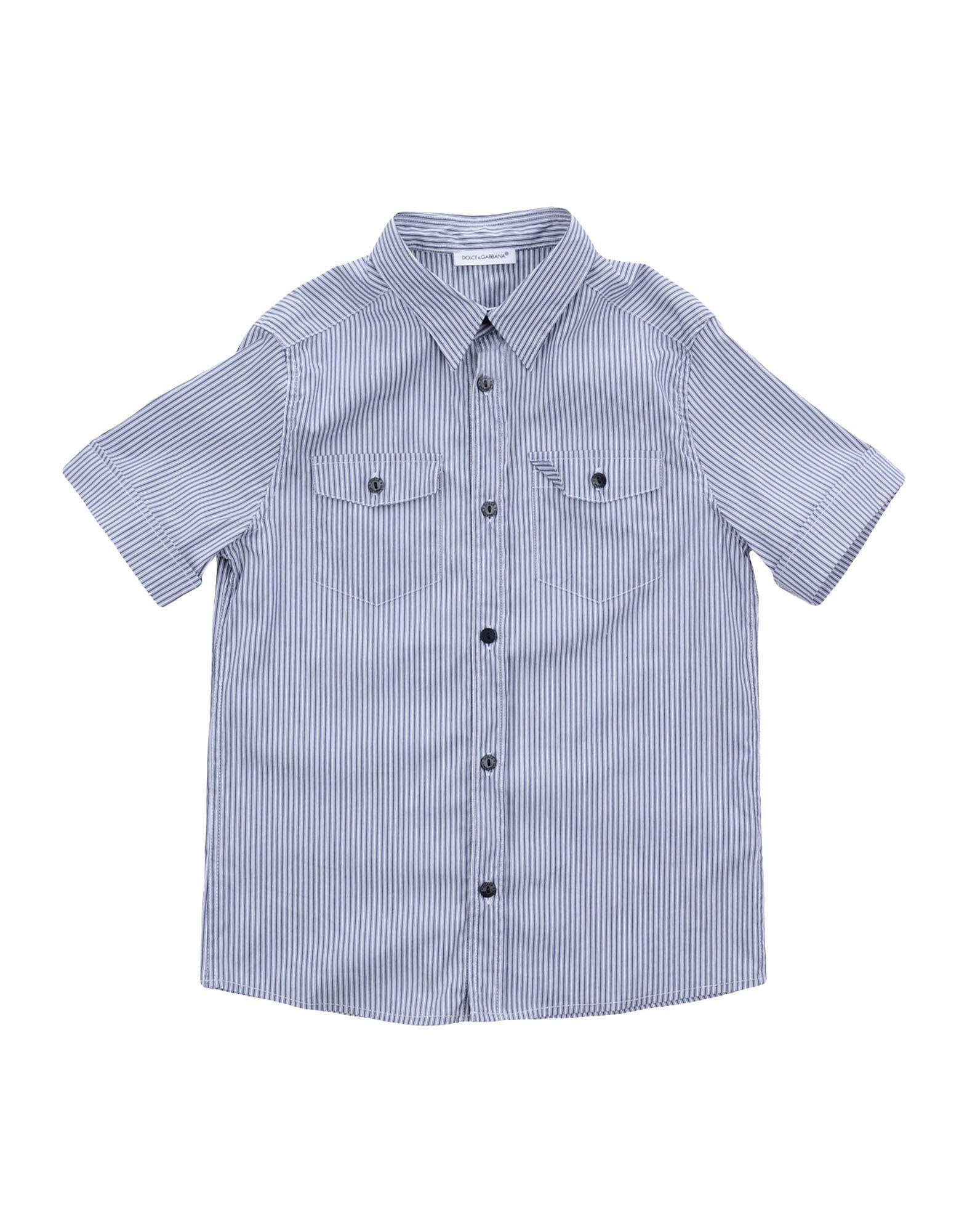 DOLCE & GABBANA Jungen 9-16 jahre Hemd Farbe Dunkelblau Größe 3