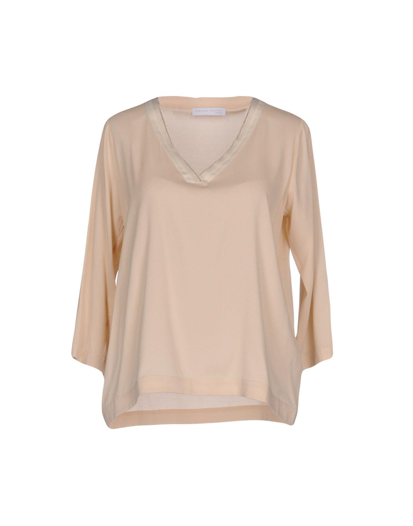 FABIANA FILIPPI Damen Bluse Farbe Hellrosa Größe 7