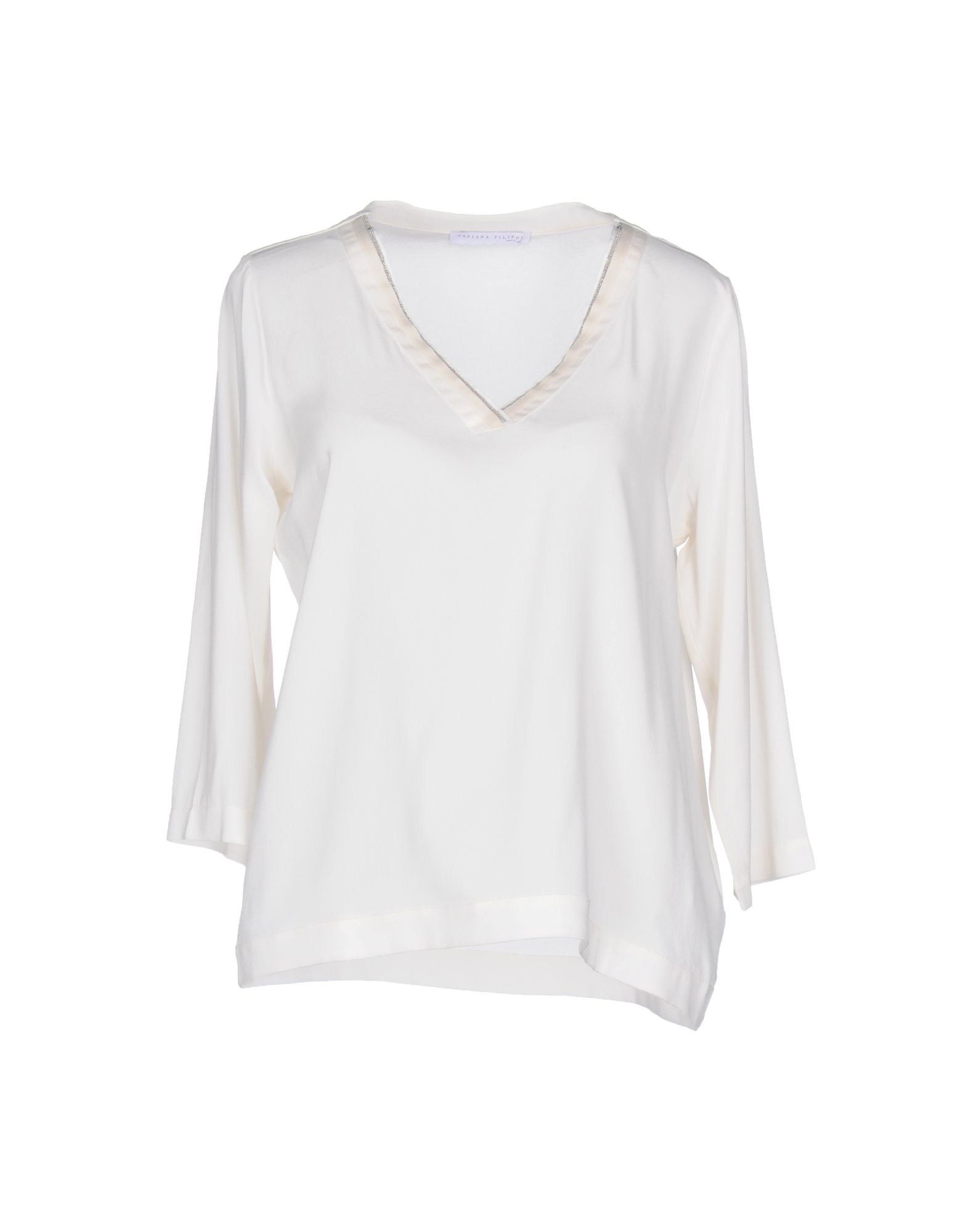 FABIANA FILIPPI Damen Bluse Farbe Elfenbein Größe 7