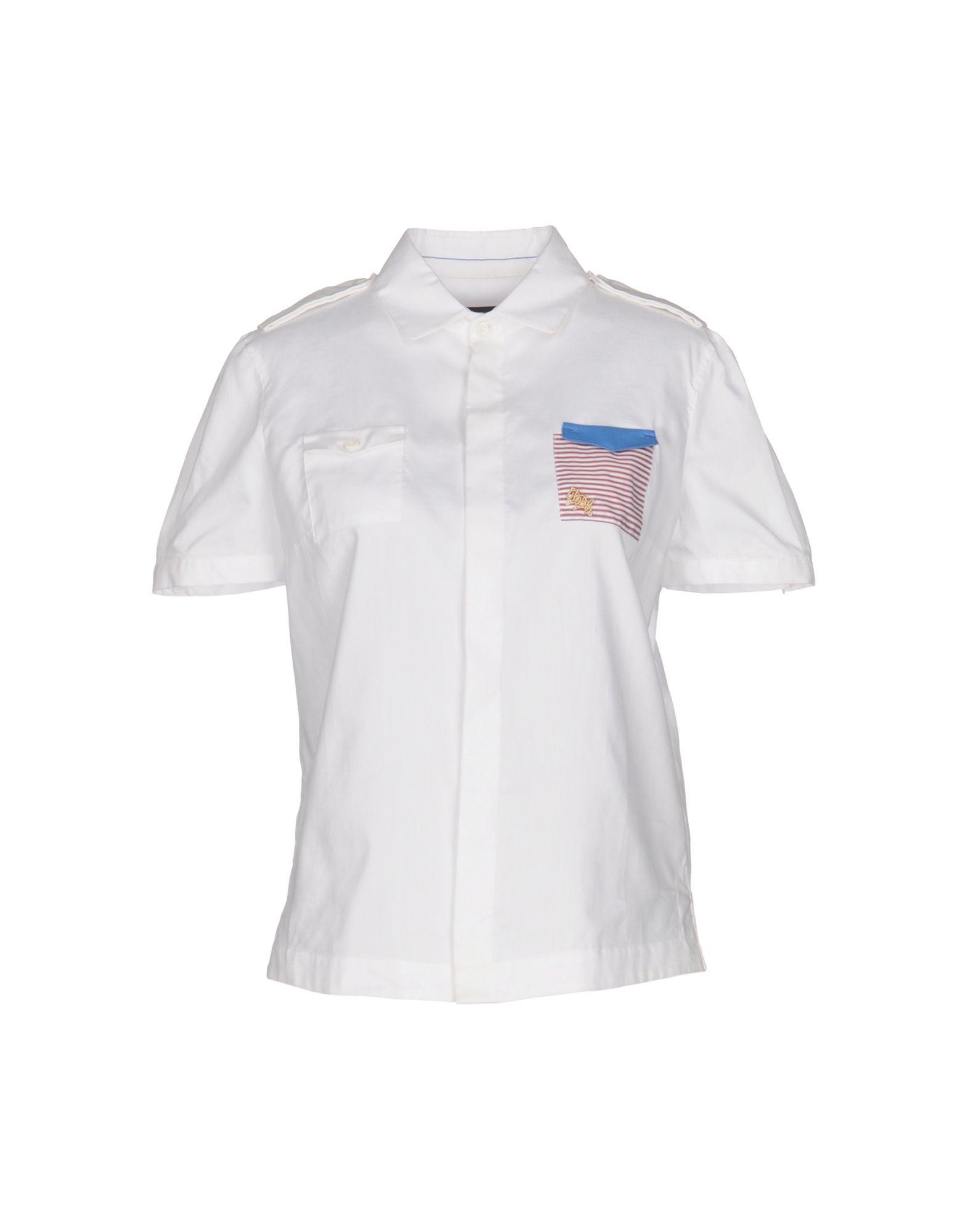 DSQUARED2 Damen Hemd Farbe Weiß Größe 4
