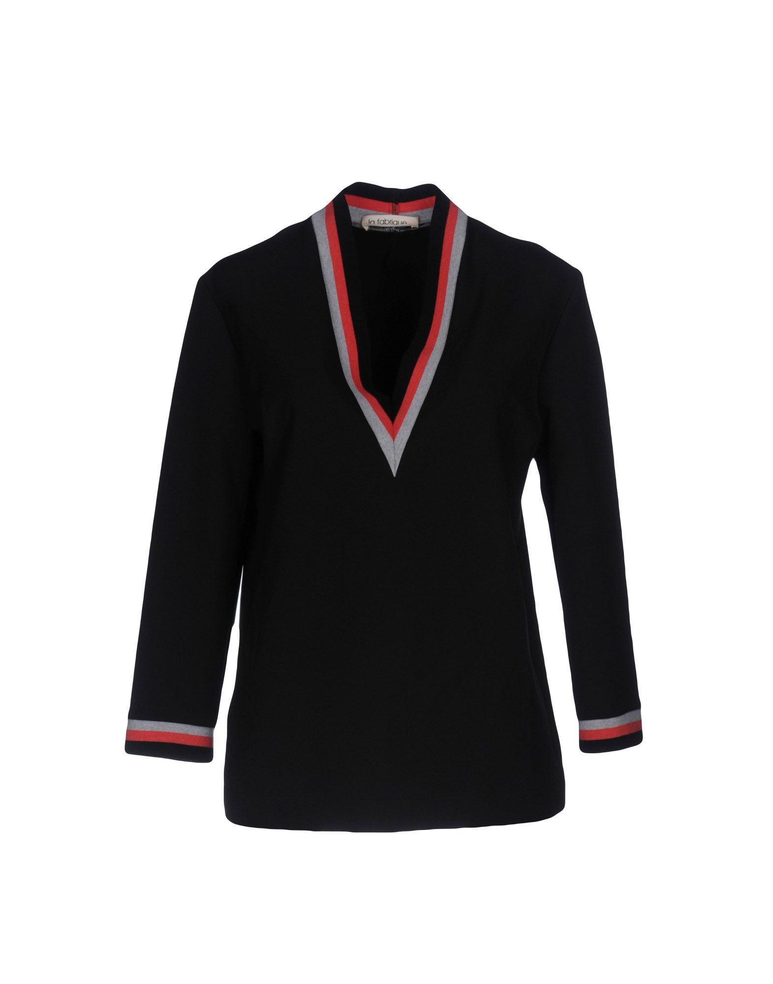 цена LA FABRIQUE Блузка онлайн в 2017 году