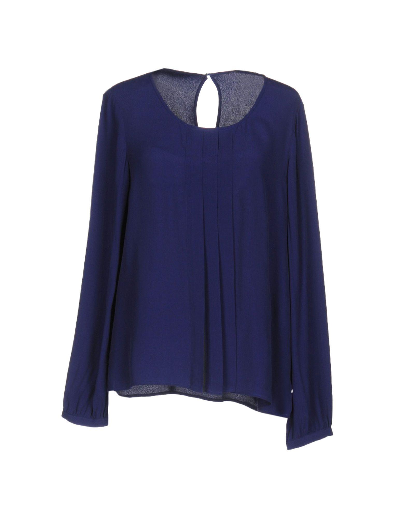 ARMANI JEANS Damen Bluse Farbe Dunkelblau Größe 3