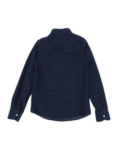 MSGM Jungen Hemd Dunkelblau Größe 8 100% Baumwolle