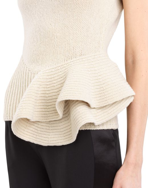 lanvin superyak knit top women