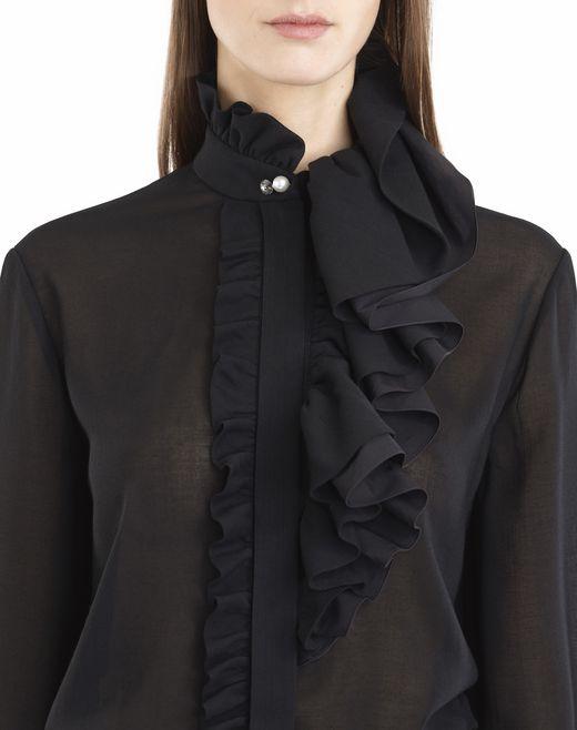lanvin muslin blouse women