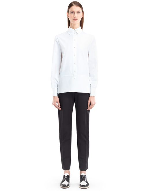 ENGLISH POPLIN BLOUSE - Lanvin