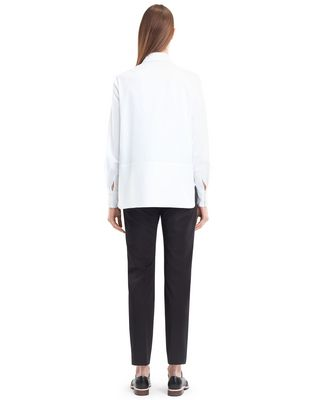 LANVIN ENGLISH POPLIN BLOUSE Top D e