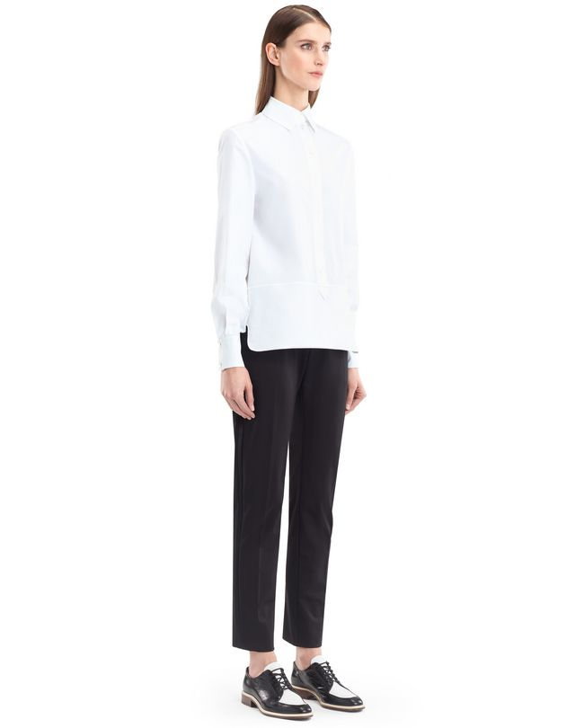 LANVIN ENGLISH POPLIN BLOUSE Top D d