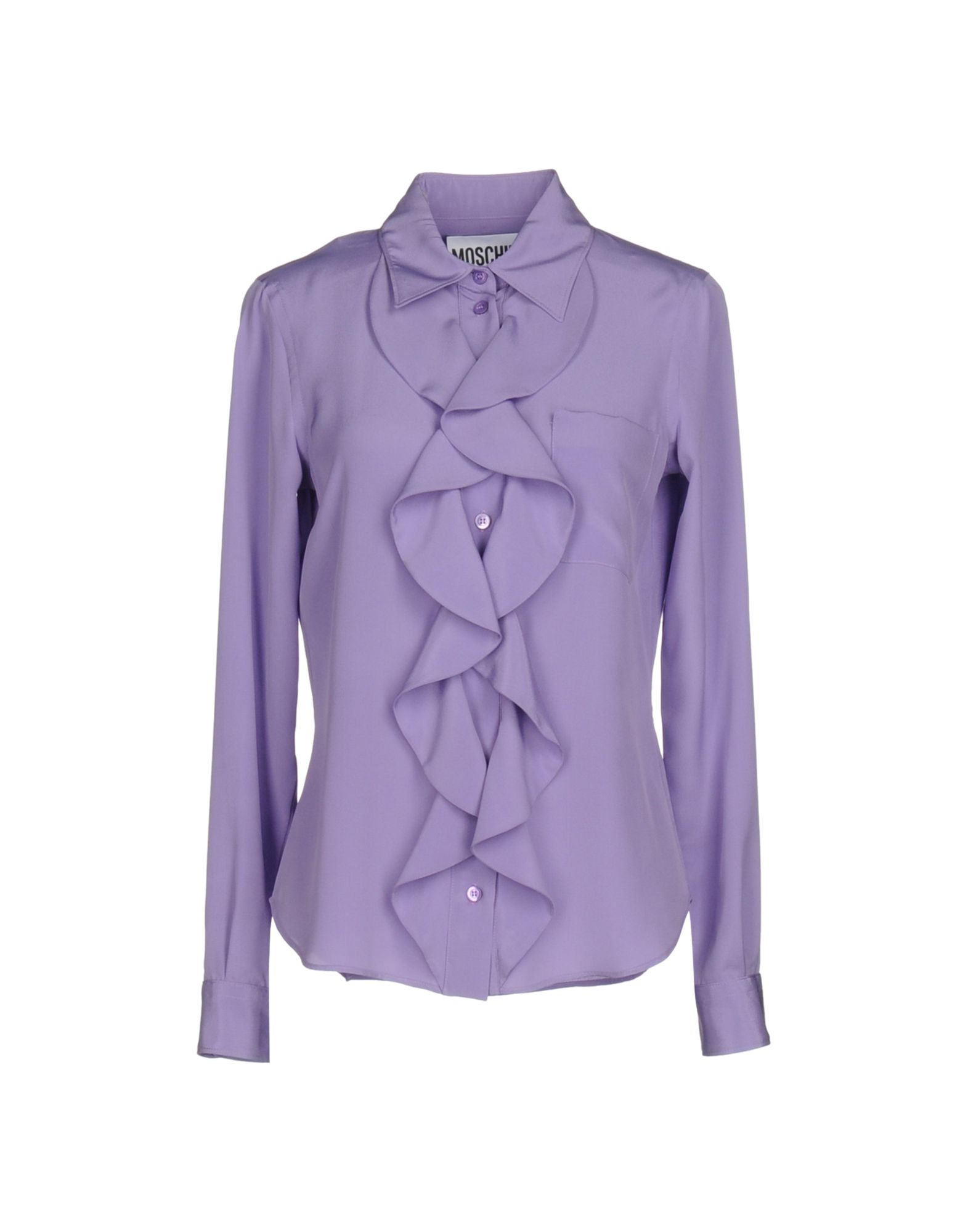 цена  MOSCHINO COUTURE Pубашка  онлайн в 2017 году