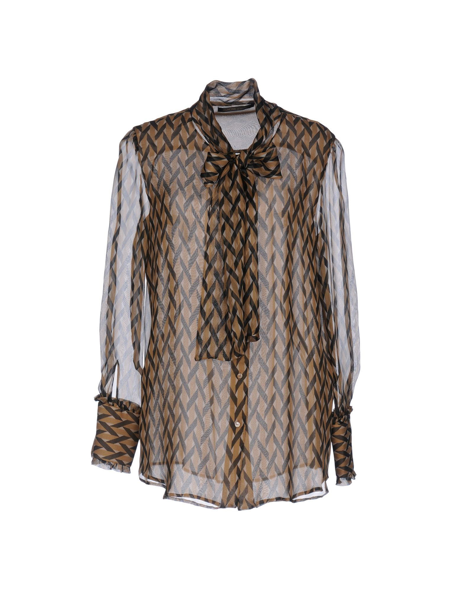AGNONA Pубашка цены онлайн