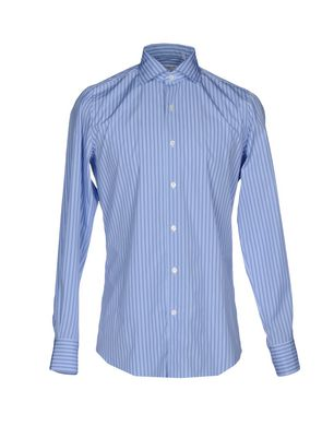FINAMORE 1925 Herren Hemd Farbe Azurblau Größe 6
