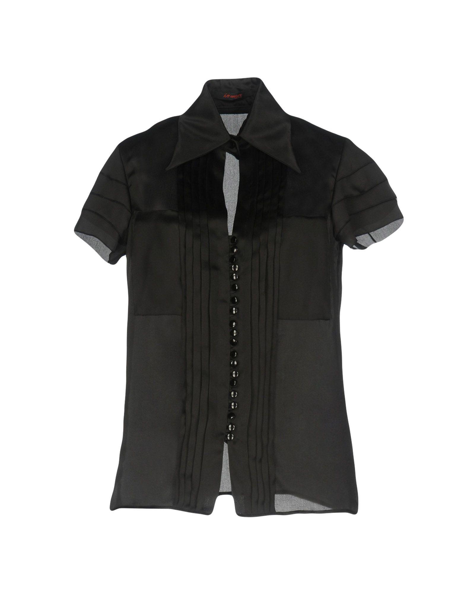 IO COUTURE Pубашка bencivenga couture классический костюм
