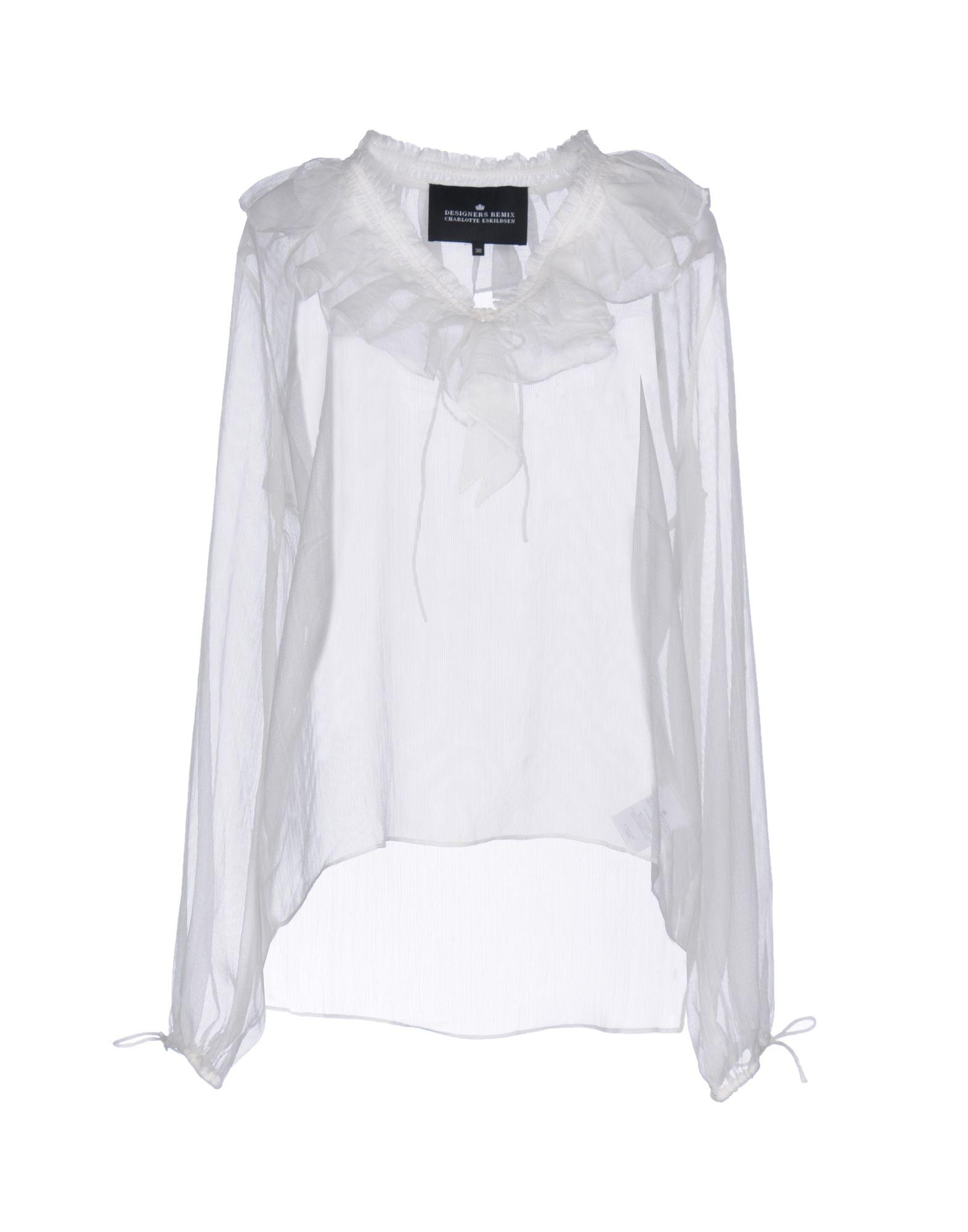 DESIGNERS REMIX CHARLOTTE ESKILDSEN Блузка цена