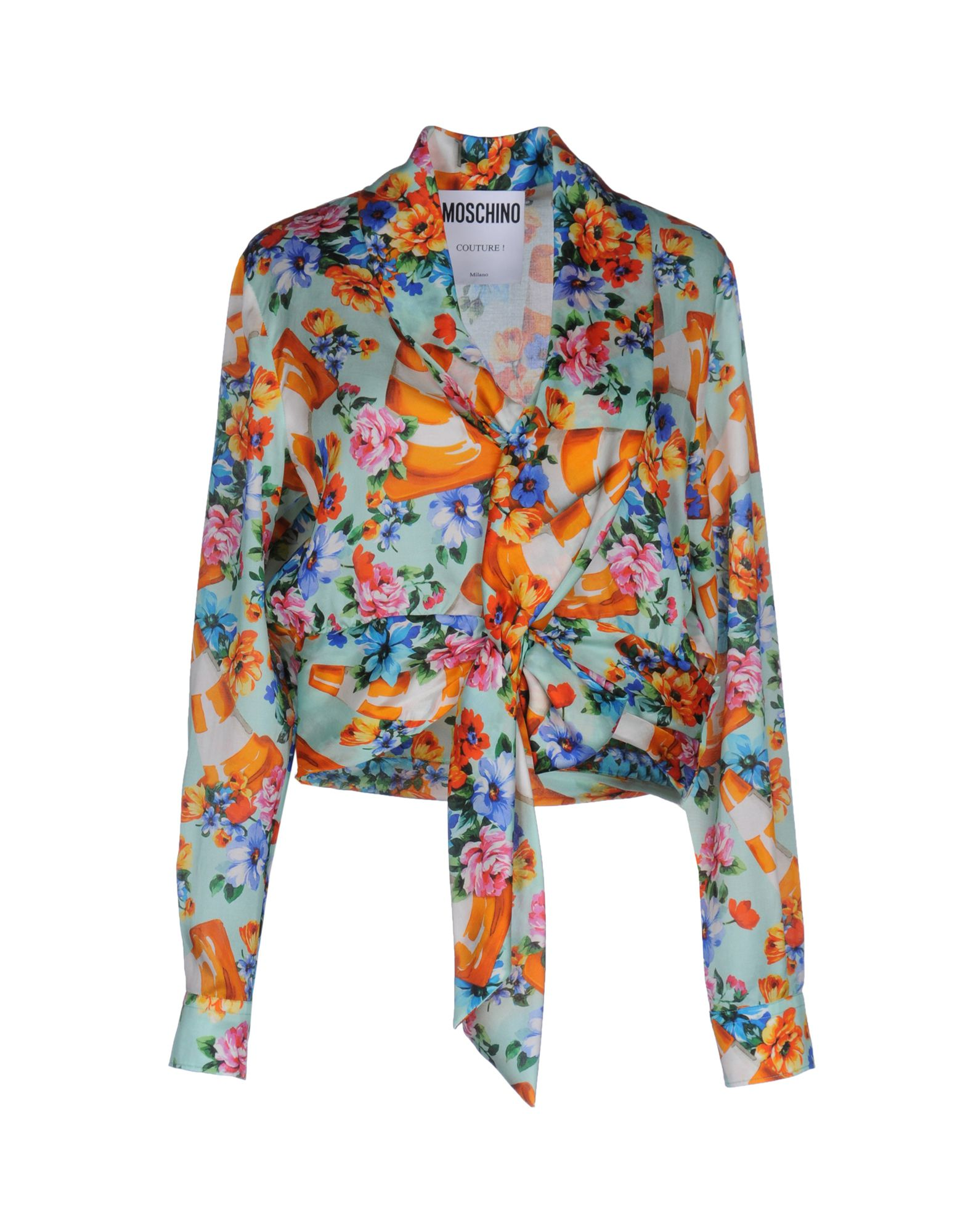 MOSCHINO COUTURE Блузка moschino couture сандалии