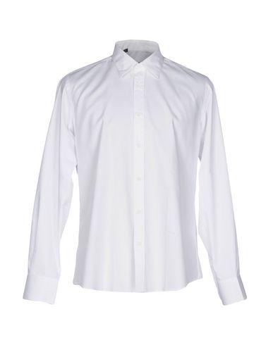 ALESSANDRO DELL'ACQUA メンズ シャツ ホワイト 41 コットン 100%