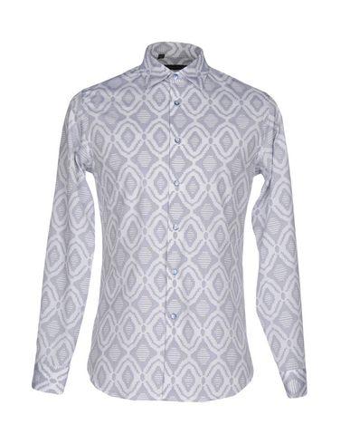 ALESSANDRO DELL'ACQUA メンズ シャツ ホワイト 39 コットン 100%